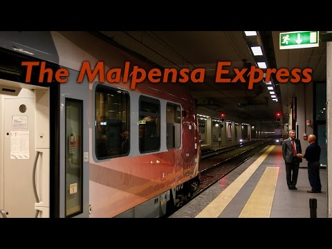 The Malpensa Express MXP | 23.10.2016