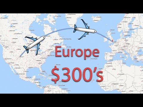 How to Find Cheap Flights ($300's Round Trip to Europe)