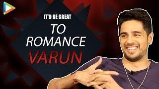 Tara Sutaria- Better WIFE than a GIRLFRIEND? Sidharth Responds | Rapid Fire | Alia | Ranbir | Varun