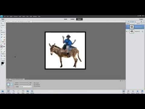 Photoshop Elements Made Easy, Part13 (How to create a border around a photo)