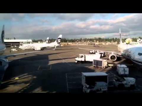 Seattle KSEA, seattle airport, alaska terminal