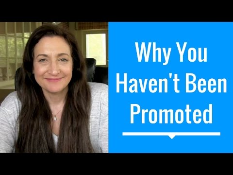 Why You Haven't Been Promoted At Work (Even If You Work Your Butt Off) - #HelpMeJT