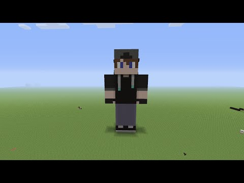 xbox minecraft how to build a skin statue