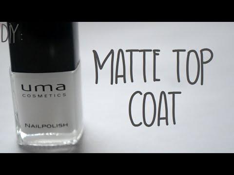 DIY: {Matte Top Coat}