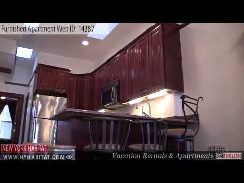 New York City - Video tour of a furnished apartment on West 137th Street (Harlem - Uptown Manhattan)