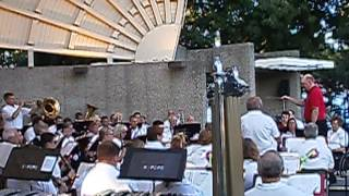 The Kenosha Pops Concert Band performs Bob Lowden