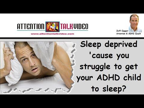 How to Get ADHD Kids to Sleep