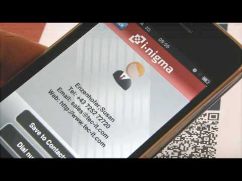 Create QR-Code Business Cards for Free