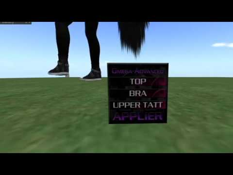Make Clothing Appliers in Second Life! (Omega)