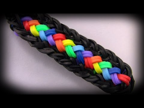 How to make a beautiful bracelet Loom band