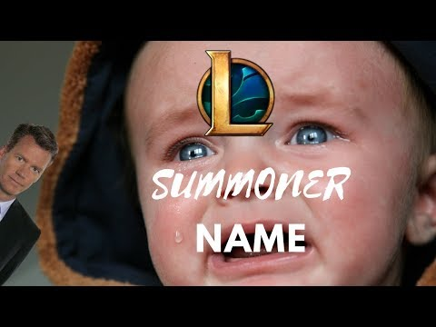 League Of Legend: Picking your summoner name