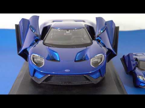 BIG Vs SMALL   Diecast Model Cars - FORD GT