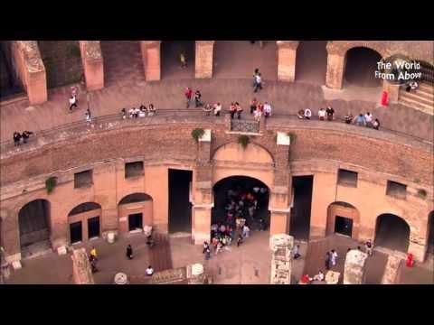 Italy from Above - Beautiful Flying Journeys from Caserta to Tivoli (HD)