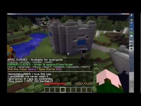 How to Play Capture the Flag: Minecraft a.mcctf.com