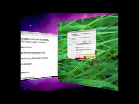 How to get Microsoft Office 2011 for Mac for free!!