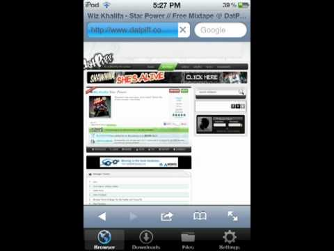 How to download songs from datpiff directly to your iPod/iPhone/iPad
