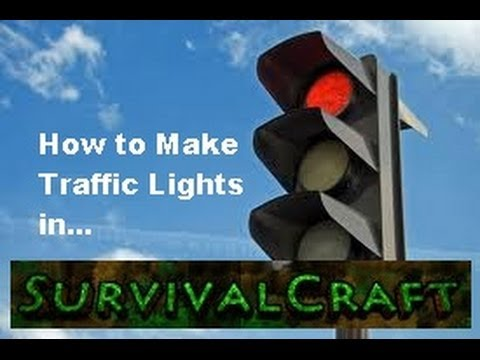 SURVIVAL CRAFT: How To Make Traffic Lights