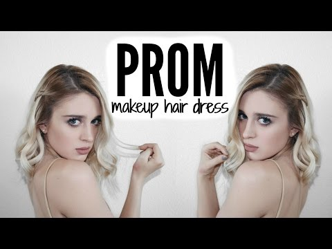 PROM 2016 TUTORIAL - MAKEUP, HAIR + DRESS