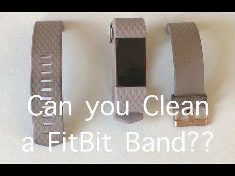 Can you clean FitBit Charge 2 Lavender Band?