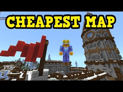 What's The CHEAPEST Minecraft Xbox/PE Map? (Map Sunday)