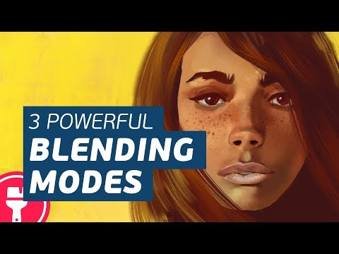 Digital Painting BLENDING MODES: 3 EASY Ways to Color Your Artwork (Essential!)
