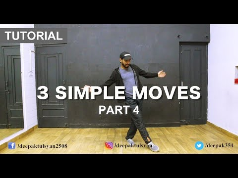 How to Dance | Basic Dance Steps for beginners | 3 Simple Moves | Hindi