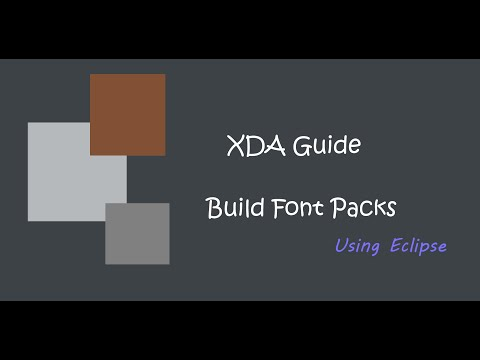 [XDA GUIDE] Font Packs in Eclipse
