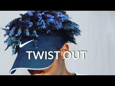 HOW TO BLACK MEN'S TWIST OUT TUTORIAL