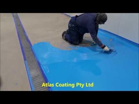 Epoxy Flooring in Food Factory-Polyurethane Flooring-Atlas Coating- Sydney