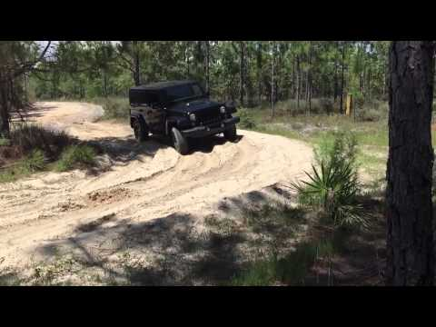 Jeep vs. Sand