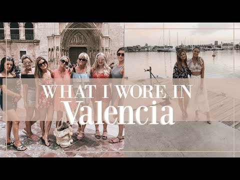 WHAT I WORE IN VALENCIA  //   HEN - DO OUTFITS!   // Fashion Mumblr