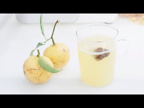 How to make Penang Nutmeg Juice | Nutmeg Juice with Sour Plum
