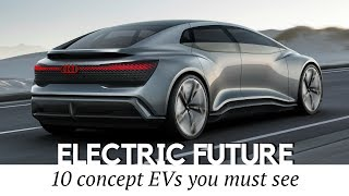 10 NEW Electric Car Concepts that Should Hit the Production
