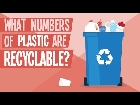 What Numbers of Plastic are Recyclable?