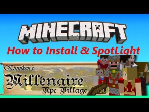 Millenaire Mod 1.3.2 SMP - How to Install & SpotLight