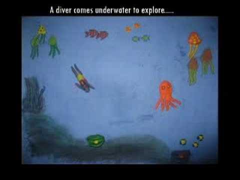 Stop Animation: Underwater story