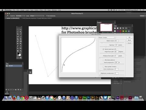 Photoshop CC / 14.2 : Images applied to paths