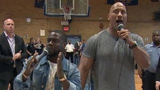 The Rock and Kevin Hart Take on Bullying
