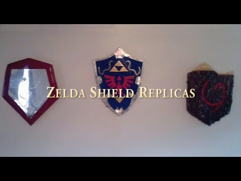Hand Forged Zelda Shields