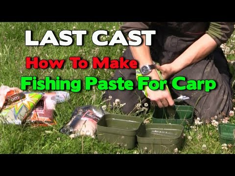 How To Make The Perfect Fishing Paste For Carp