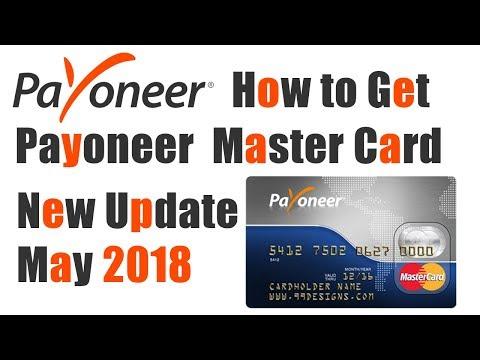 how to get payoneer MasterCard payoneer new update