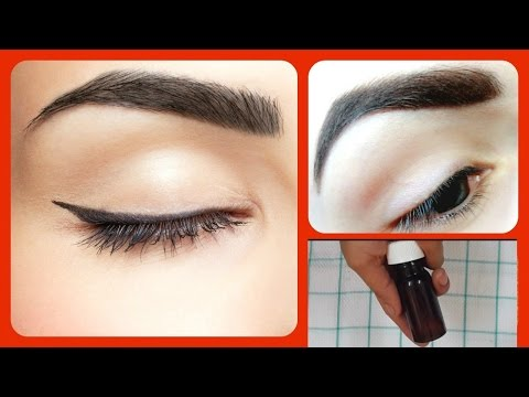 How to Grow Your Eyebrows Thicker  | Home Remedies Long Thick Eyebrows