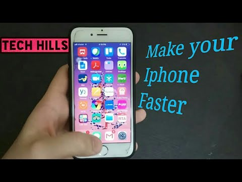 Make Your Iphone Faster !!