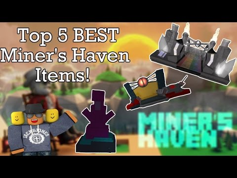 Top 5 BEST Miners Haven items (v2)