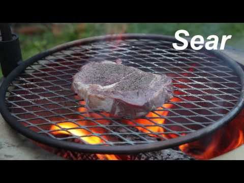 COWBOY STEAK: How To Reverse Sear A Ribeye