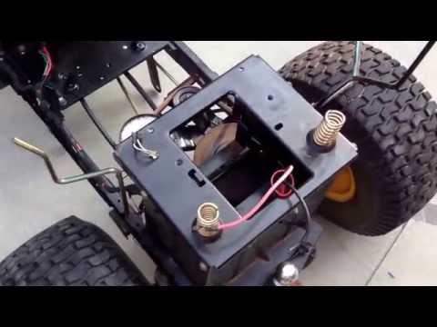 Riding Mower Repair (drive belts) MTD