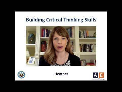 Teaching Tips from AE - Building Critical Thinking Skills