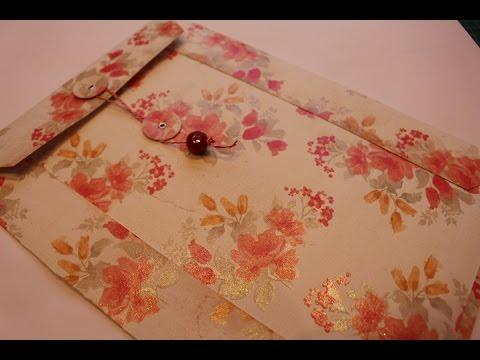 Make your own large (A4) Envelope