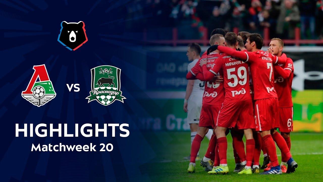 Highlights Lokomotiv vs FC Krasnodar (1-0) | RPL 2018/19