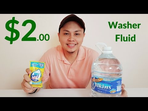 DIY: How to Make Your Own Car Windshield Washer Fluid